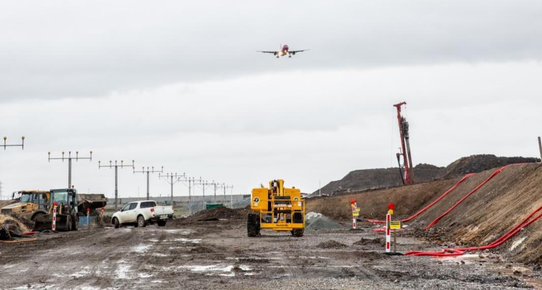Allongement de la piste de Charleroi – Conférence de Presse et visite du chantier