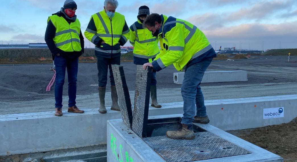 Aéroport de Charleroi – Allongement de la piste – Mise en oeuvre du balisage