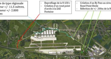 Aéroport de Liège – Zones d'activités économiques – Aménagement de l'accessibilité