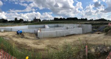 Aéroport de Charleroi – Construction d'un bassin d'orage